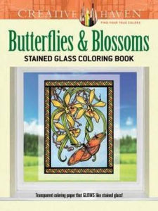 Creative Haven Butterflies & Blossoms Coloring Book