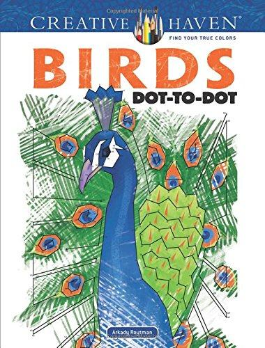 Creative Haven Birds Dot to Dot Book - Freedom Day Sales