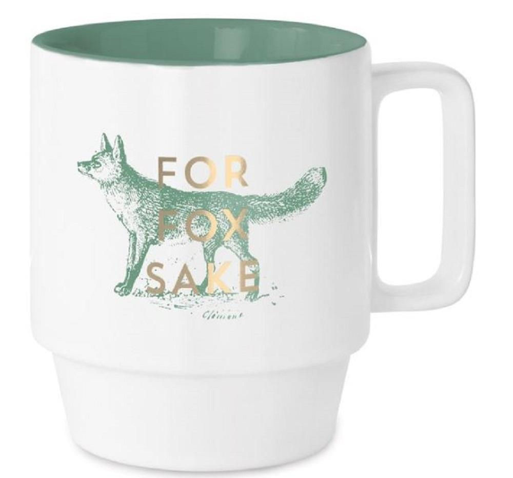 Vintage Sass For Fox Sake Ceramic Mug
