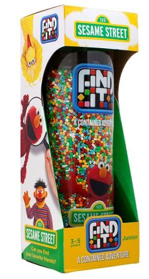 Sesame Street Junior Find It Game