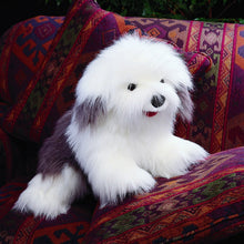 Load image into Gallery viewer, Folkmanis Sheepdog Hand Puppet