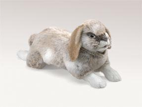 Folkmanis Holland Lop Bunny Rabbit Hand Puppet