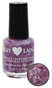 Natural Nail Polish-Purple Fairy Twinkle
