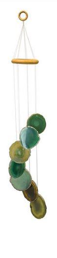 Green Agate Windchime