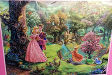 Load image into Gallery viewer, 300 Piece Oversized Thomas Kinkade Disney Princess Puzzle-Sleeping Beauty