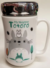 Load image into Gallery viewer, Totoro Ceramic Mug with Screw on Lid
