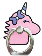 Load image into Gallery viewer, Unicorn Phone Ring Cell Phone Stand