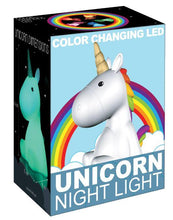 Load image into Gallery viewer, Unicorn LED Color Changing Nightlight