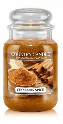 23oz Country Classics Large Jar Kringle Candle: Cinnamon Spice - Freedom Day Sales