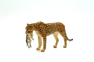 Kidsource Mojo Female Cheetah with Cub