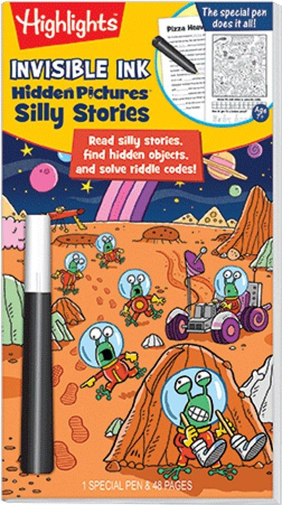 Highlights Silly Stories Invisible Ink Activity Book