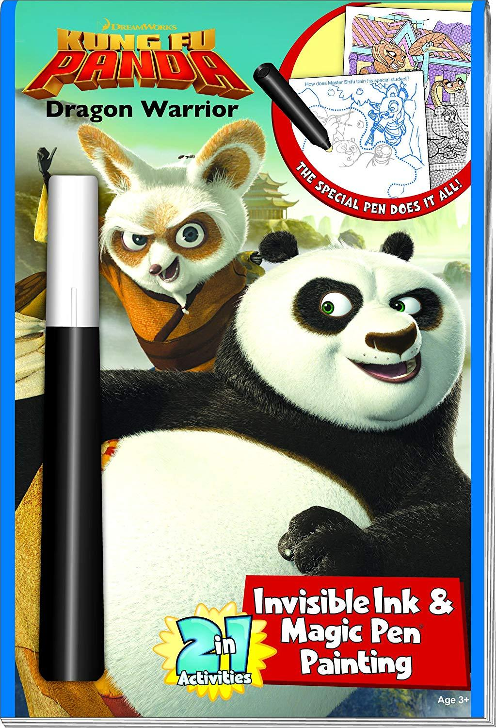 Kung Fu Panda Activity Book