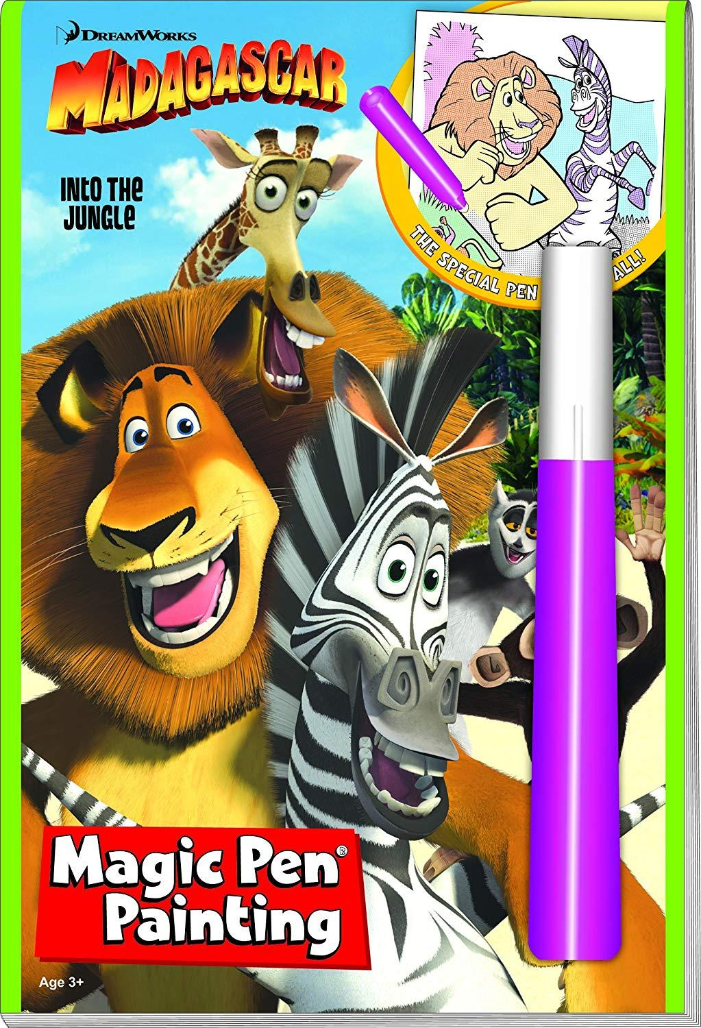 Madagascar into the Jungle Activity Book