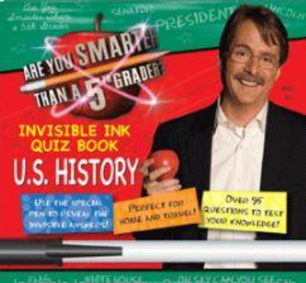 Are You Smarter Than A 5th Grader US History Activity Book