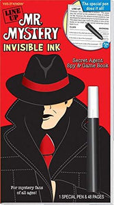 Line Up Mr Mystery Invisible Ink Book