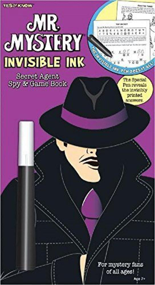 Mr Mystery Invisible Ink Book