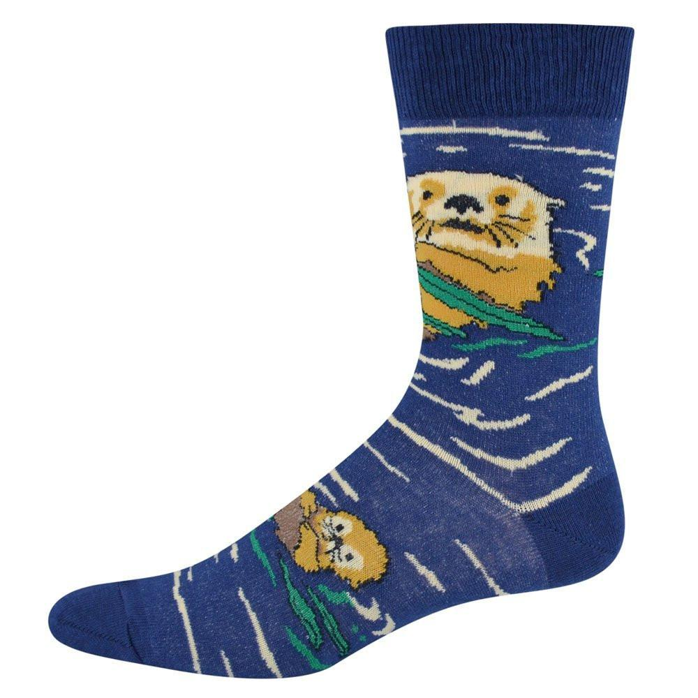 Otters in Water Socks Large-womans 6-9