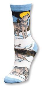 Timberwolves Adult Socks- Large