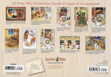 Load image into Gallery viewer, Leanin Tree Away in a Stable Christmas Cards #90246