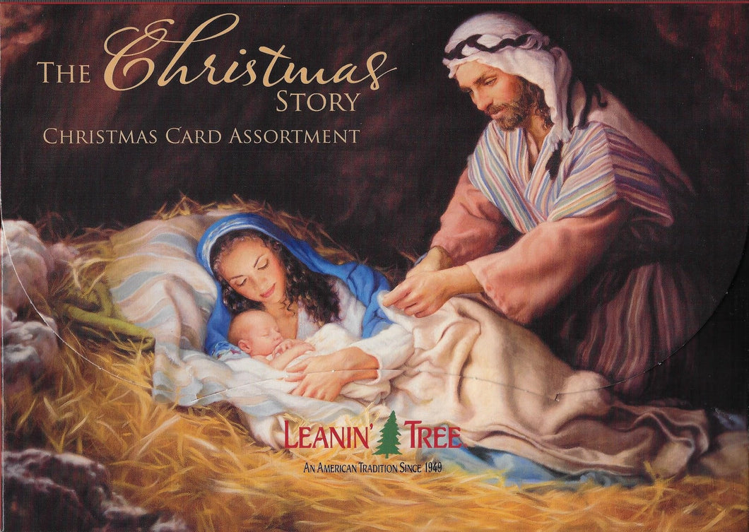 Leanin Tree The Christmas Story Christmas Cards Assortment #90289