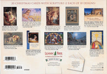 Load image into Gallery viewer, Leanin Tree The Christmas Story Christmas Cards Assortment #90289