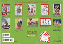 Load image into Gallery viewer, Leanin Tree Animal Antics Christmas Cards Assortment #90292
