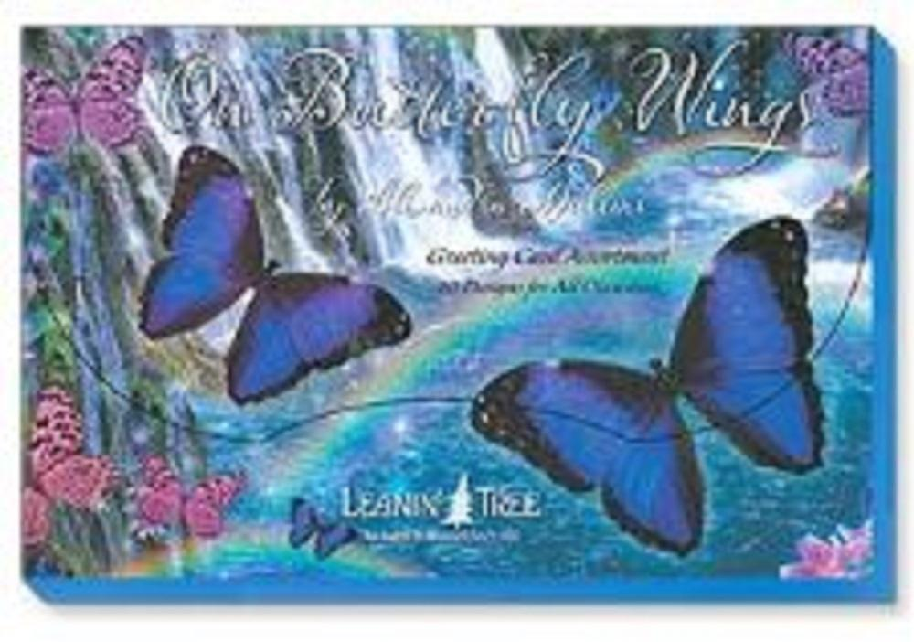 Leanin Tree On Butterfly Wings Greeting Cards Assortment #90776