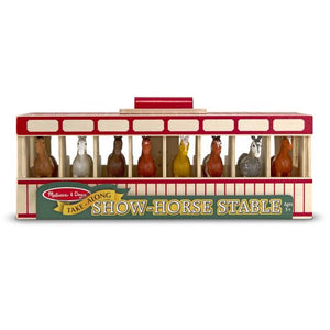 Melissa & Doug Take-Along Show-Horse Stable 3744