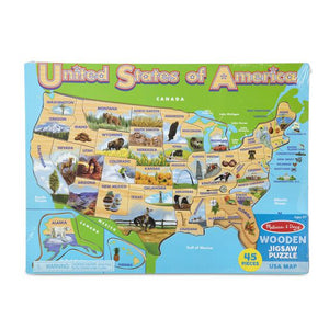 Melissa & Doug USA Map Jigsaw Puzzle 9073