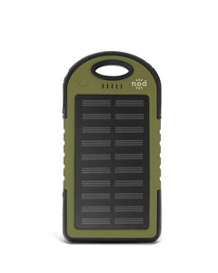 Beam Bank Portable Power Bank & Solar Charger-Army Green