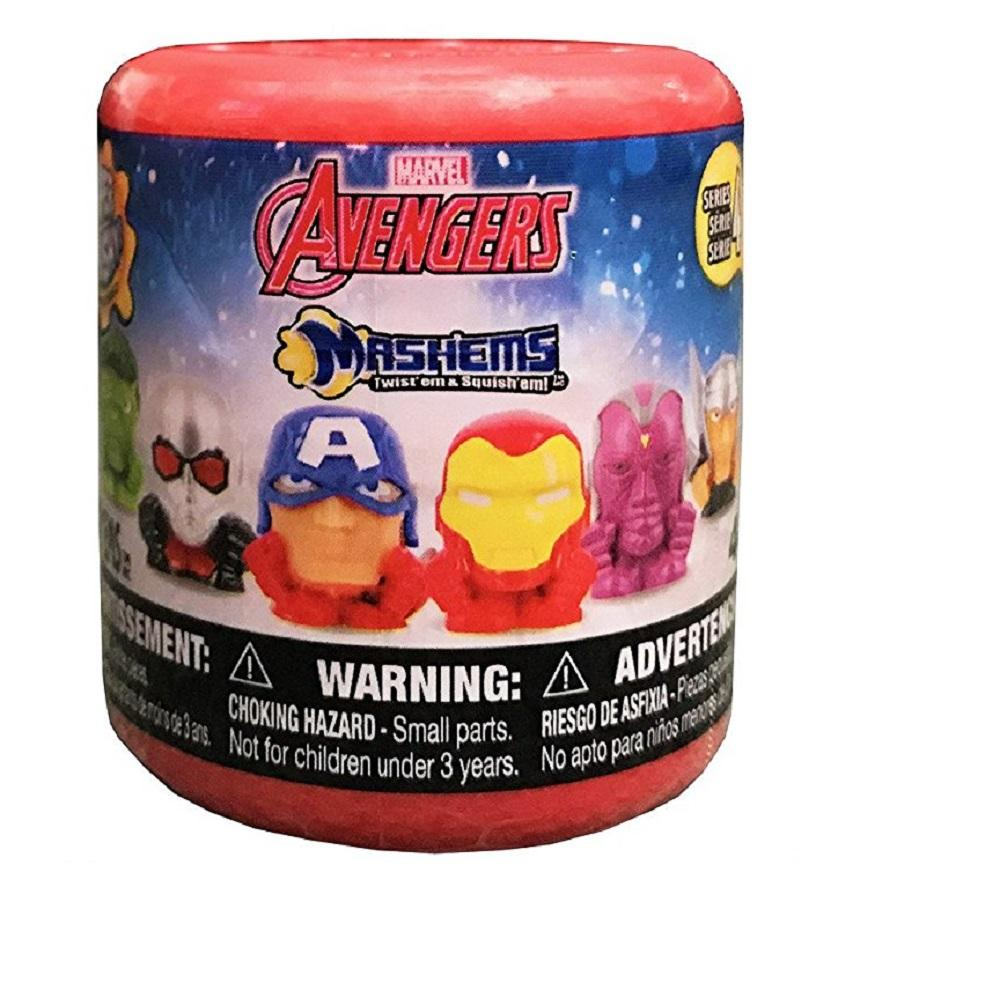 Mashems Marvel Avengers Capsule Blind Pack, SINGLE-Series 4