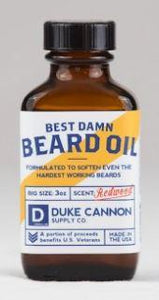 Duke Cannon Best Damn Beard Oil - Freedom Day Sales