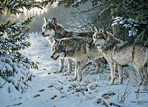 Wolf Trail 1000 pc Puzzle
