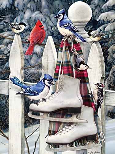 Birds with Skates Puzzle