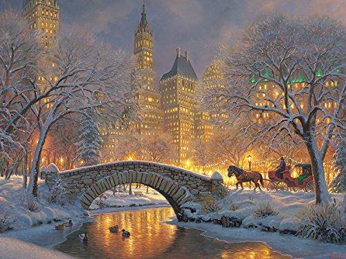 Winter in the Park 500 pc Puzzle