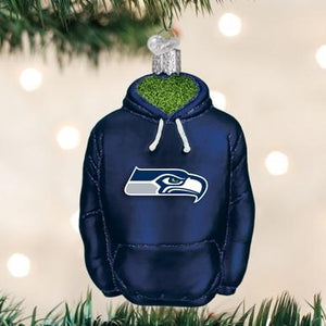 Seattle Seahawks Licensed Hoodie Ornament