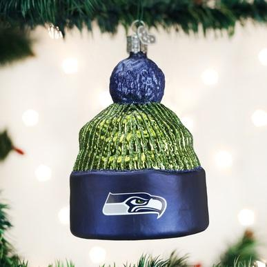 Seattle Seahawks Licensed Beanie Ornament