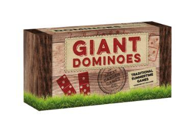 Giant Wooden Dominoes Game