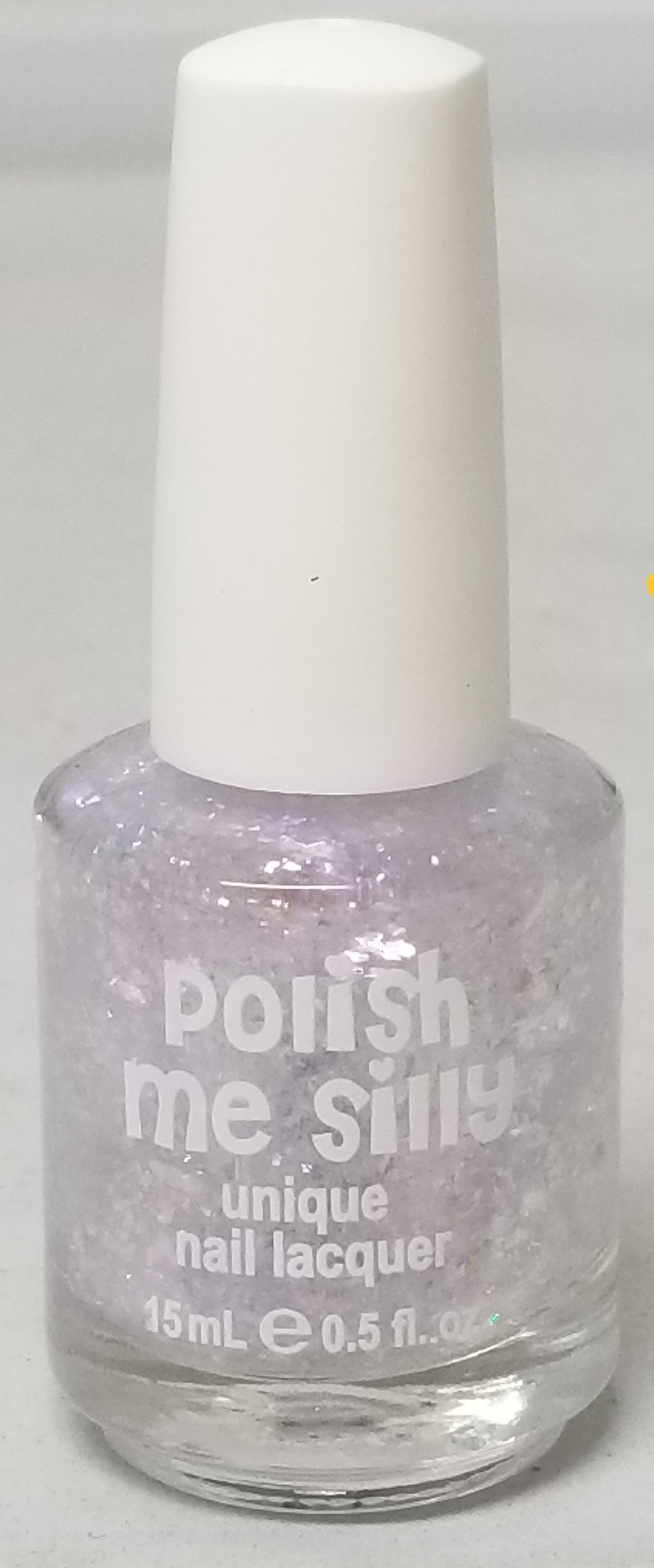 Polish Me Silly Flakie Nail Lacquer 15ML Glow Girl