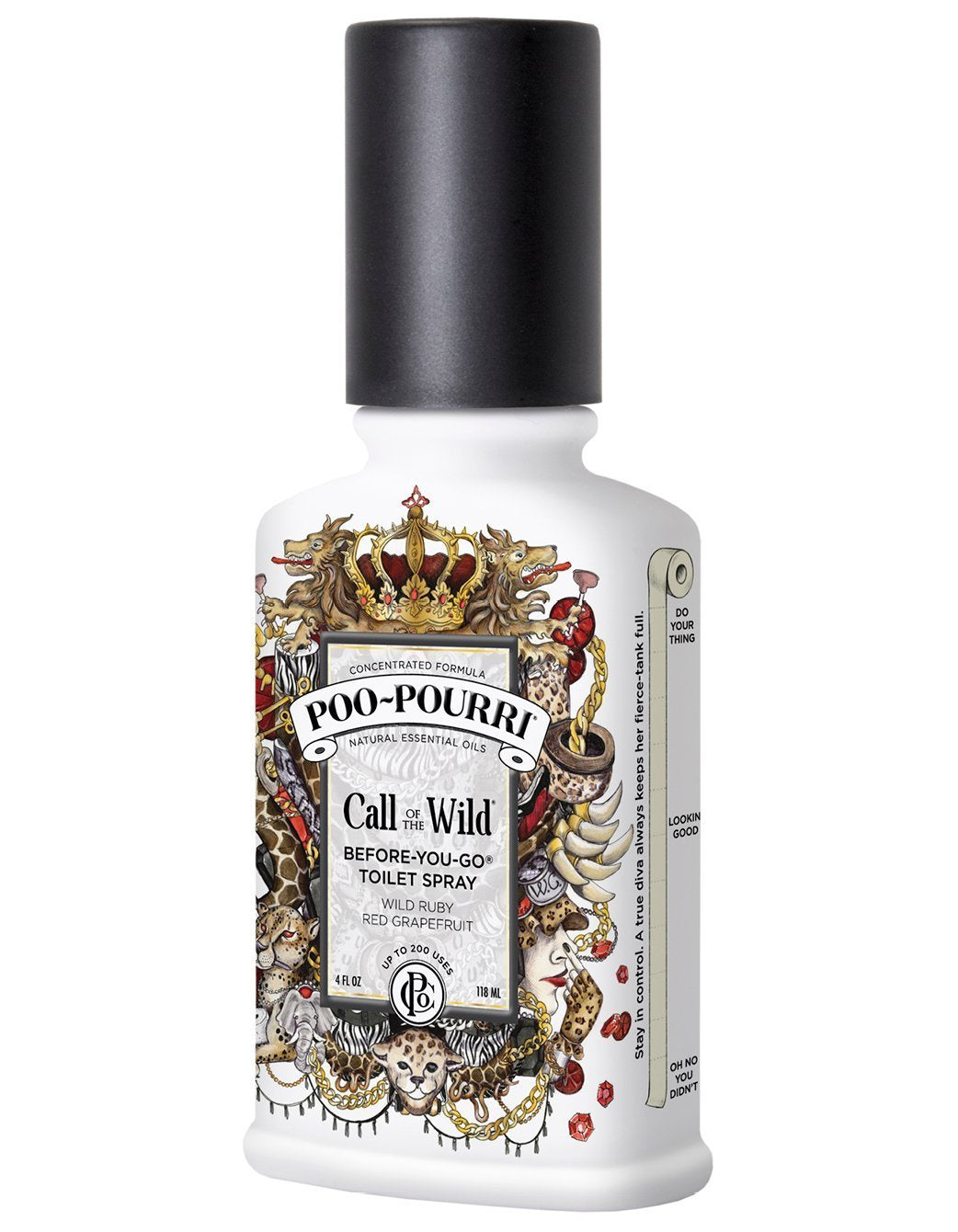 New Packaging Poo-Pourri Call of the Wild, 4oz Bottle