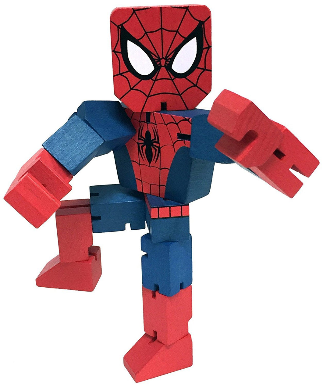 Marvel Spiderman Wooden Warriors Doll 8