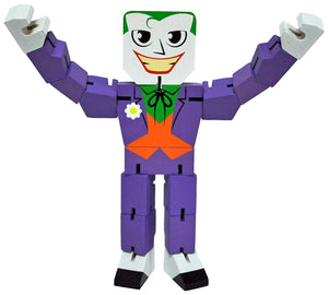 DC Comics Joker Wooden Warriors Doll 8""