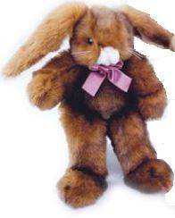 Purrfection Baby Mocha Bunny Plush