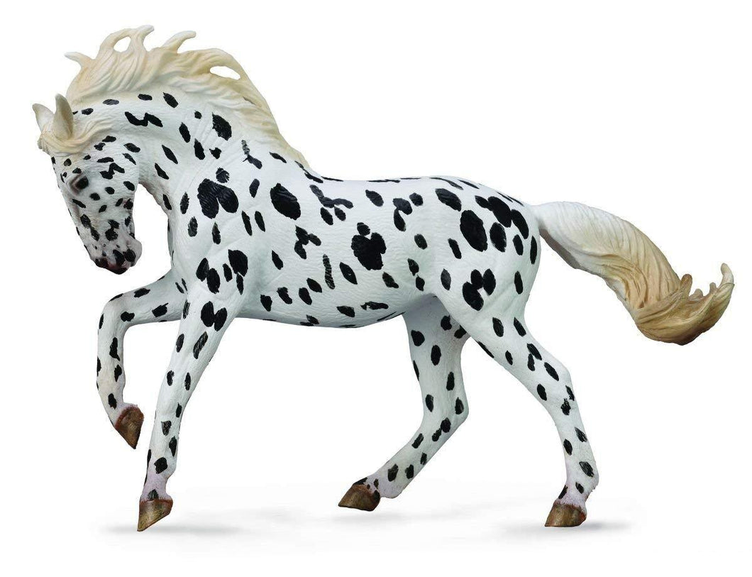 Reeves Collecta Black Leopard Knappstrupper Mare