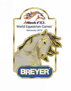 Breyer FEI World Equestrian Games Pins Kentucky 2010-Head Only