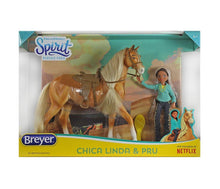 Load image into Gallery viewer, Breyer Horses Chica Linda and Prudence Gift Set