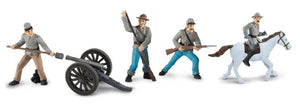 Safari Civil War Confederate Soldiers Collection 2 Toob
