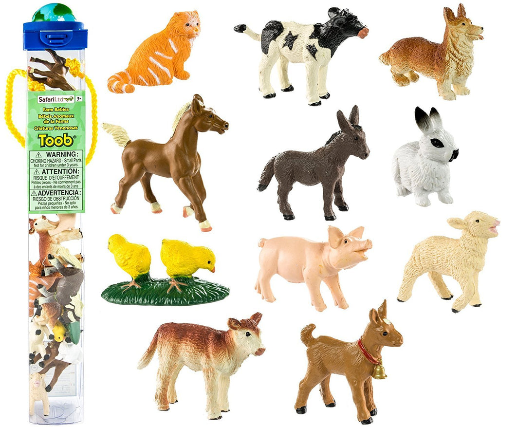 Safari Farm Babies Toob - Freedom Day Sales
