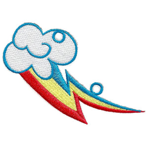 Shwings Rainbow Dash Cutie Mark Shoe Accessory