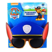 Load image into Gallery viewer, Officially Licensed Paw Patrol Chase Sunstaches Sun Glasses